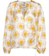 mannon blouse lange mouwen geel baum und pferdgarten
