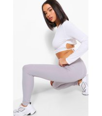 everyday ribbed jersey legging, ice