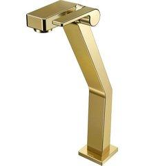 torneira para banheiro mesa  stillo ouro polido bica alta - 00820343 - docol - docol