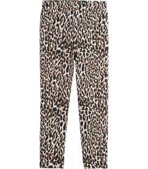 pantalón leopard café banana republic