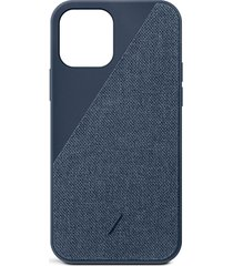 clic canvas iphone 12 pro max case - indigo