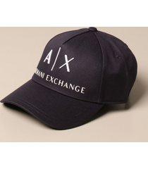 armani collezioni armani exchange hat armani exchange baseball cap with logo