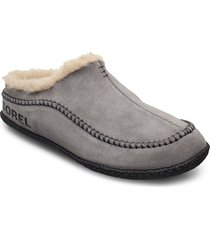 lanner ridge™ slippers tofflor grå sorel