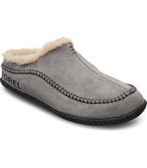 lanner ridge™ slippers tofflor grå sorel