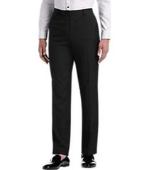 paisley & gray black slim fit formal dress pants