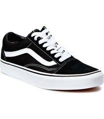 ua old skool låga sneakers svart vans