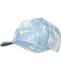 gorra de golf nike aerobill classic99 champion-celeste