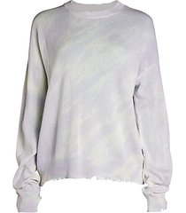 emma distressed cotton sweater
