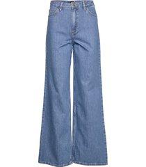 super high a line fl vida jeans blå lee jeans