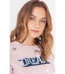 camiseta estrellas estampadas