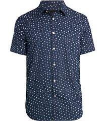 star-print shirt