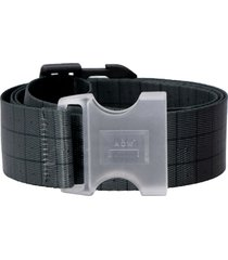 a-cold-wall checked canvas belt