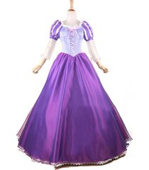 adult tangle rapunzel princess costume rapunzel cosplay dress party fancy dress