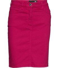 wgc698bs3300 knälång kjol rosa love moschino