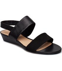 sense lily shoes summer shoes flat sandals svart clarks