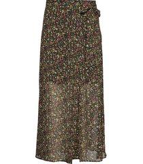 cabena knälång kjol multi/mönstrad mbym