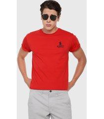 camiseta rojo-azul royal county of berkshire polo club