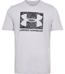 ua abc camo boxed logo ss t-shirts short-sleeved vit under armour