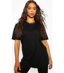 basic oversized t-shirt, black