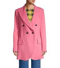 double breasted blazer jacket