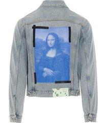 off-white blue monalisa jacket