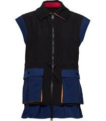 evia, 800 tech outerwear vest blauw stine goya