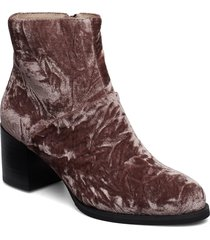 ceci v shoes boots ankle boots ankle boots with heel brun shoe the bear