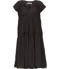 katoenen jurk jytte  zwart