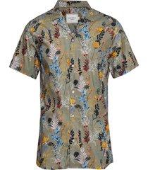boozt ss shirt overhemd met korte mouwen multi/patroon les deux