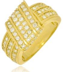 anel monica di capri semi jóias x ouro