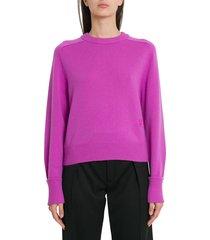chloé cashmere blend knit sweater