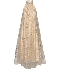 happy dress knälång klänning beige ida sjöstedt