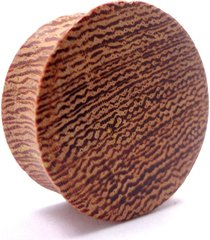 alargador madeira cerejeira 10mm ao 18mm - vintage alargadores