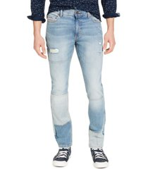 sun + stone men's slim-fit ditmars jeans, created for macy's