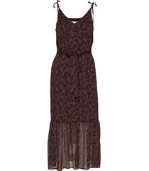 alminagz long dress ma19 jurk knielengte multi/patroon gestuz