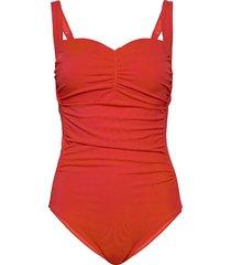 swim suit linda baddräkt badkläder orange lindex