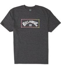 billabong men's arch logo graphic t-shirt