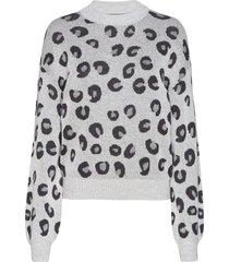 anf womens sweaters gebreide trui grijs abercrombie & fitch
