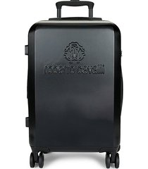 classic logo carry-on luggage