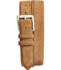men's torino suede belt, size 36 - whiskey