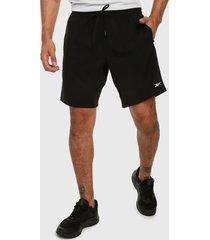pantaloneta negro reebok workout ready