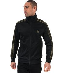 mens camouflage track top