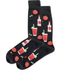 hot sox men's bloody mary socks