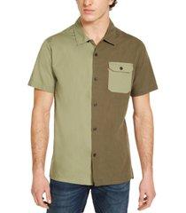 levi's men's rockwall colorblocked shirt