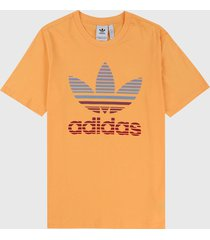 camiseta naranja-azul-rojo adidas originals triofilo ombre