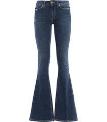 akon skinny bootcut high waisted jeans