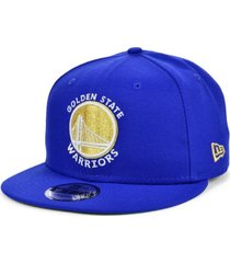 new era men's golden state warriors custom 9fifty snapback cap