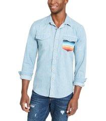 american rag men's antonio western shirt, created for macy's