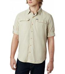 columbia blouse men silver ridge 2.0 long sleeve shirt fossil-l
