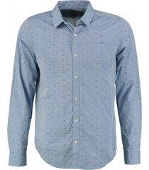 garcia overhemd denim blue